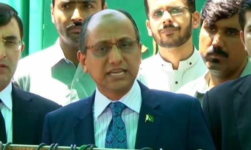 سعید غنی نے سینیٹ نشست چھوڑ دی