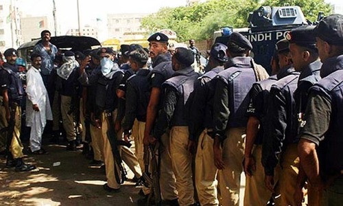 Sindh govt drafts legislation to reform 156 years old police system