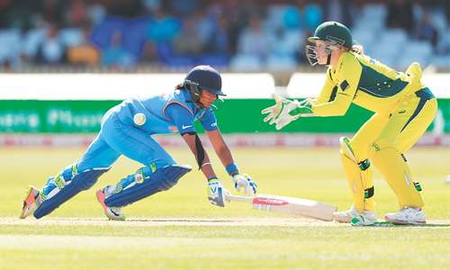 India set Aussies tough target after Kaur hits 171