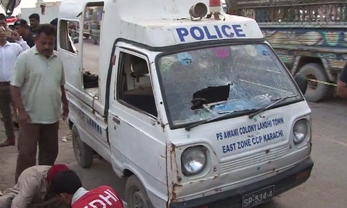 Three policemen martyred in Karachi gun attack