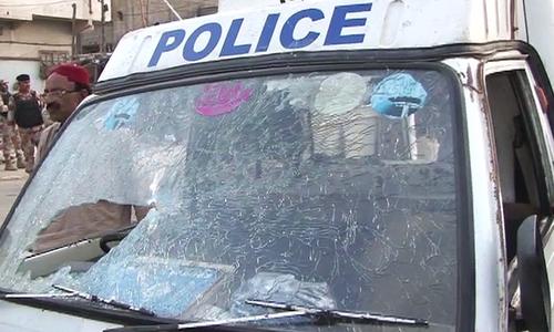 Four killed in attack on police van in Karachi's Korangi area