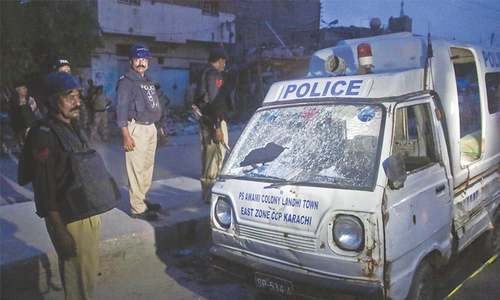 Three policemen, boy killed in Karachi attack