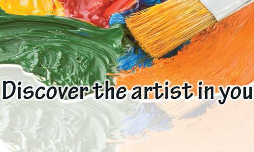 Discover the artist in you