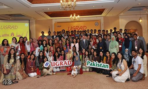 100 Pakistani exchange students to study a semester in US colleges