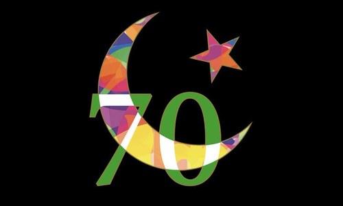پاکستان کی آزادی کے70سال،خصوصی لوگو جاری