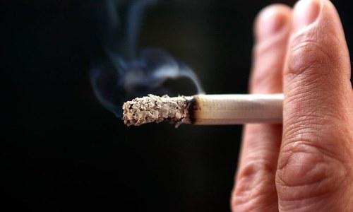 دنیا کا ہر پانچواں شخص تمباکو کا عادی