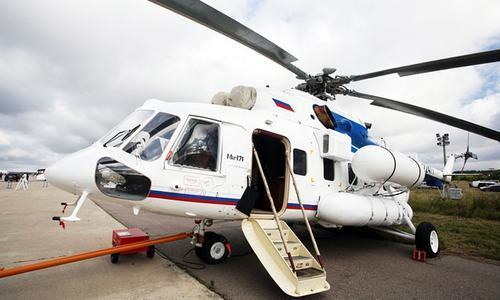 Balochistan govt receives Mi-171E helicopter from Russia