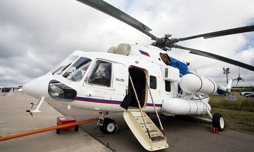 بلوچستان حکومت کو روس سے 'ایم آئی 171 ای' ہیلی کاپٹر حاصل