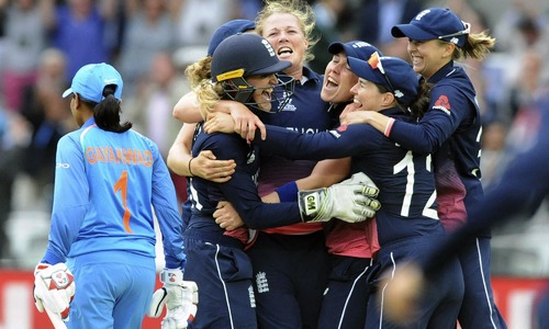 England beat India by 9 runs to win Women's World Cup