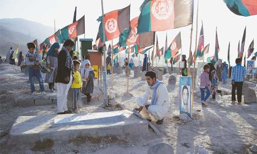 Hazaras mark anniversary of deadly attack by IS in Kabul