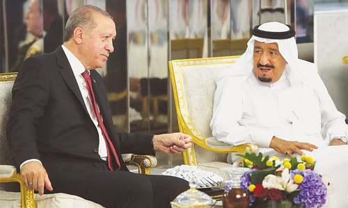 Turkish president visits Gulf to ease Qatar crisis