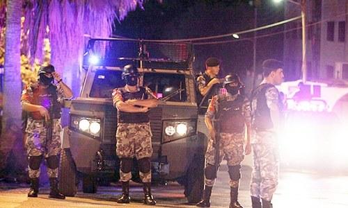 Jordanian shot dead, Israeli hurt at Amman embassy