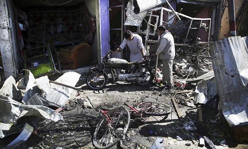 کابل میں کار بم دھماکا، 24 افراد ہلاک