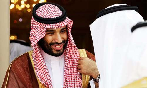 Saudi crown prince in charge as king takes holiday