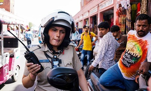 All-female police unit: challenging the male-dominated force in conservative India
