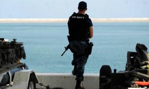 US Navy ship fires warning shots at Iranian vessel: US official
