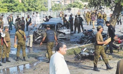 Punjab govt constitutes high-powered JIT to investigate Lahore blast