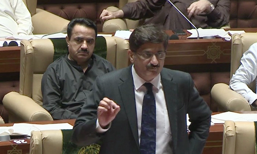 CM Sindh criticises NAB ordinance, vows to stand by accountability bill