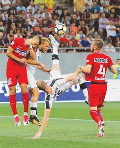 Olympiakos, CSKA poised to advance in Champions League qualifiers