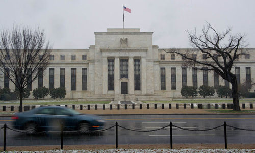 US Fed keeps key interest rate unchanged amid low inflation