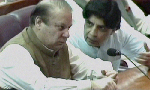 'The Nawaz-Nisar journey isn't over yet'