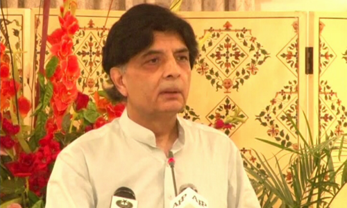Nisar announces exit from politics; will give up NA seat, ministry on day of Panamagate verdict
