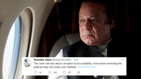 Pakistan reacts to historic SC ruling disqualifying Nawaz Sharif