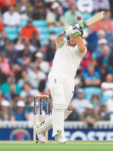 Brilliant Stokes century lifts England to 353