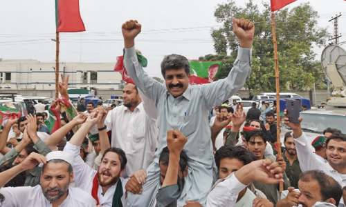 Celebrations in KP, Fata  over prime minister's disqualification