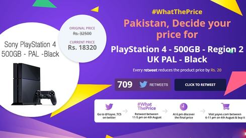 Pakistanis went on a Twitter frenzy to reduce the price of a PS4 by 20K