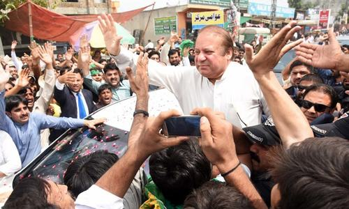 I wish to hold my peace for now: Nawaz Sharif
