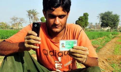 Satellite and text messages: Pakistani farmers' new irrigation tools