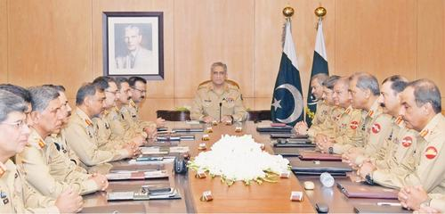 Army chief lays stress on upholding of rule of law