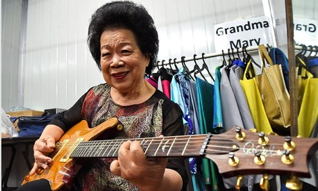This 81-year-old grandma's got the meanest guitar skills