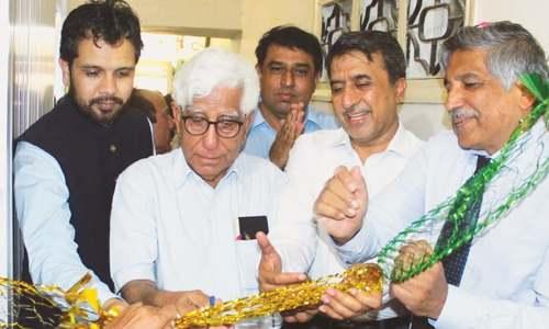 Prof Adib selects venue for SIUT Larkana