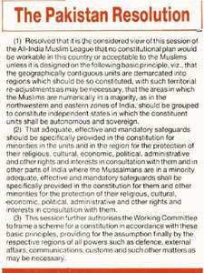 The Pakistan Resolution