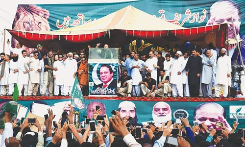 Sharif vows to fight back, rages against judges