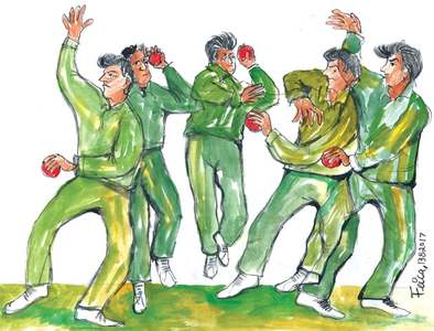 CRICKET: THE RISE OF THE LEFT WING