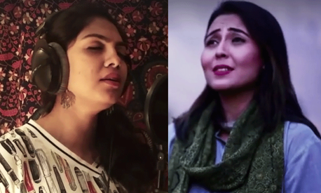 Pakistanis and Indians sing each other's national anthems for Independence Day