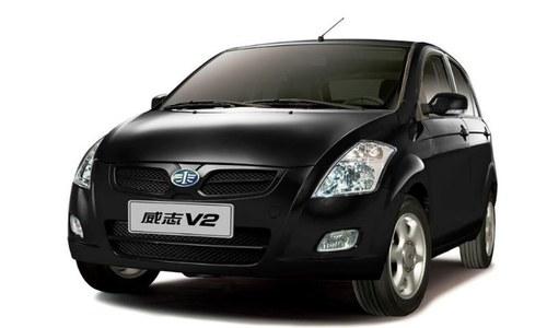 پاکستان میں اسمبل ہونے والی پہلی چینی گاڑی متعارف