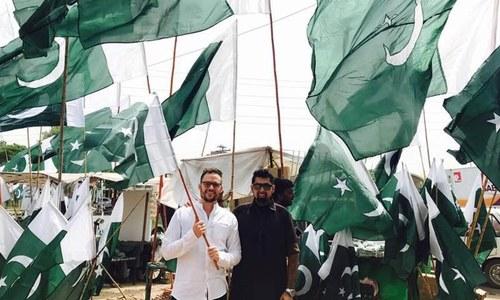 امریکی کامیڈین جیریمی میک لیلن پاکستان میں کیا کر رہے ہیں؟
