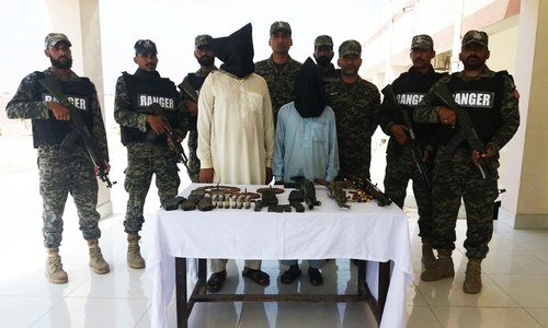 Rangers arrest 7 'terrorists', 20 'Afghan suspects' in Punjab operation: ISPR
