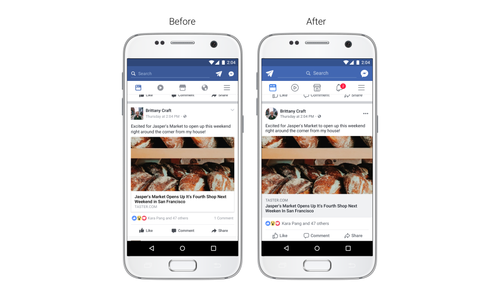 Facebook updates timeline for 'improved readability', 'easier navigation'
