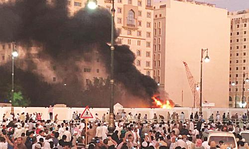 Fire destroys buildings in Saudi Unesco heritage site