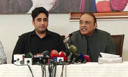 Do not see Nawaz or Sharif family in politics in future: Asif Zardari