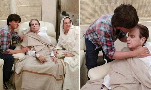 شاہ رخ خان، دلیپ کمار کے 'منہ بولے بیٹے'