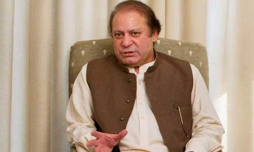 Not the only one responsible for confrontation between institutions, Nawaz says