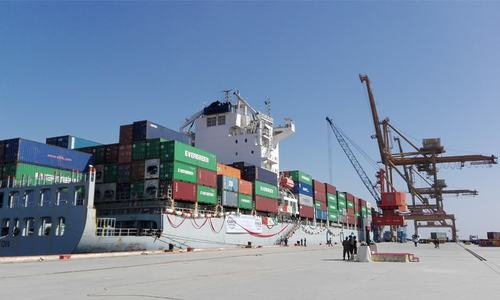 Govt asked to shift Afghan cargo handling to Gwadar