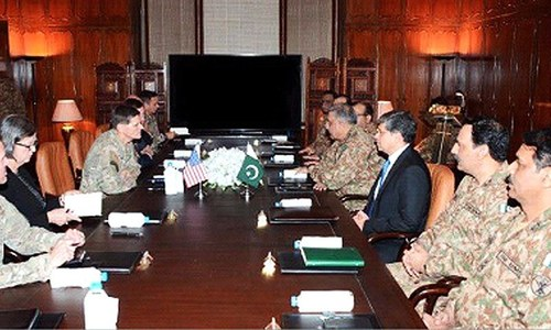 Pakistan reaffirms support for US, Afghan forces