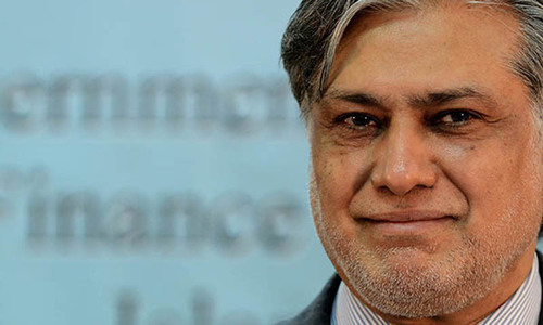 PTI accuses Ishaq Dar of running money laundering network